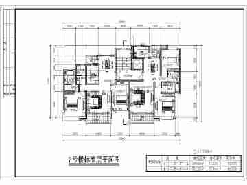 百余种住宅楼平面户型图方案设计图