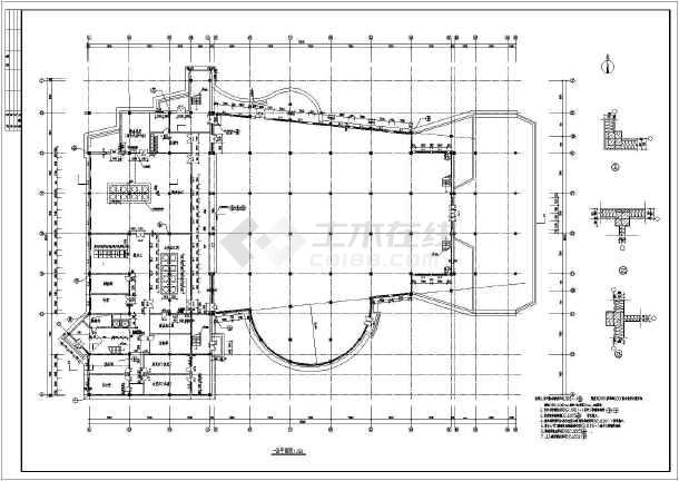 【陕西】某地平面食堂布置建筑六合无绝对日本模具六合无绝对片