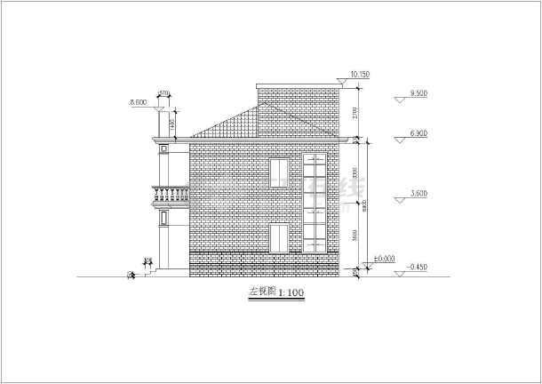 基础节点图,2-2节点图,屋顶结构透视图,天沟大样图,屋顶结构图,阳台祥