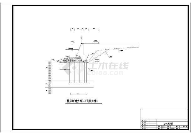 cad高速横断面图铜陵市高架桥设计图图片