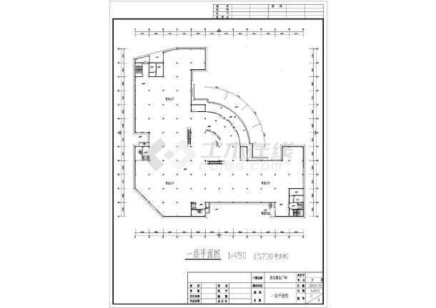 某地五层框架结构商场建筑设计方案图_cad图纸下载