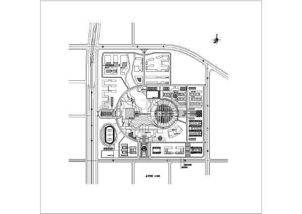 校园花坛平面图图