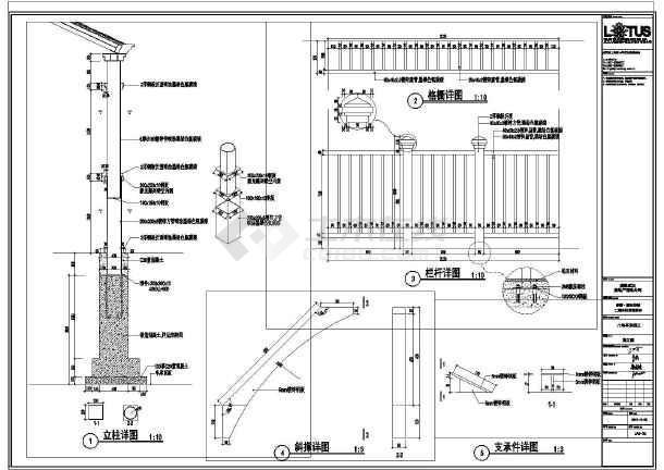 说明八角全套v全套工程施工仿古凉亭图纸质量图纸上关键图片