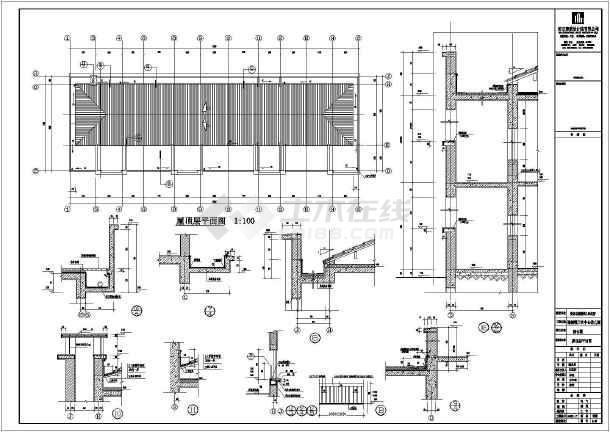 三层框架结构设计图 三层混泥土框架结构农村房屋设计图 建筑框架结构