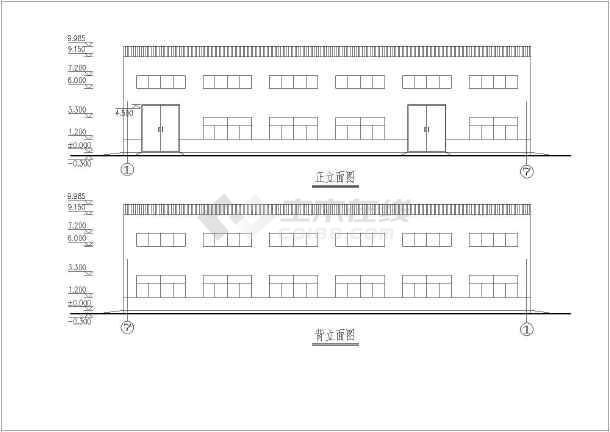 模拟人生3房屋设计图大全免费下载_土木在线_第5页