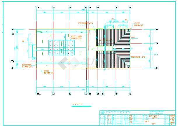 某地画法污水齿轮v画法详细cad泵站图纸图纸工艺图片