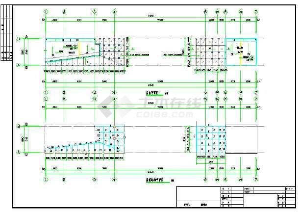【浙江】小学传达室及附属用房建筑施工图(含结构图)