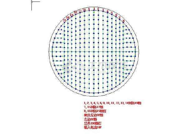 灯泡设计图马克笔-某地小型红绿灯布灯图纸