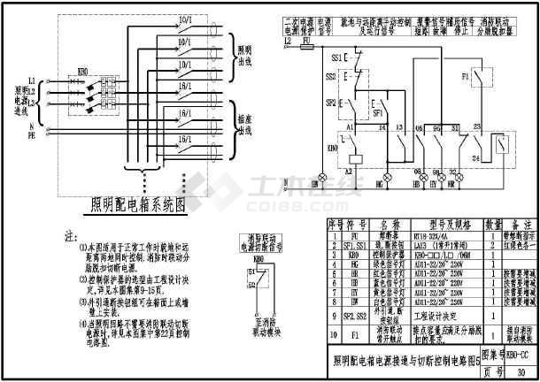 kbo控制与保护开关电器二次控制电路图集100多张