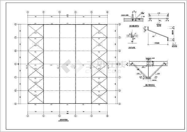 相关专题:门式刚架施工图 钢结构门式钢架设计 门式钢架结构施工图