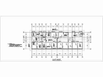 5度区多层剪力墙结构房屋设计施工图
