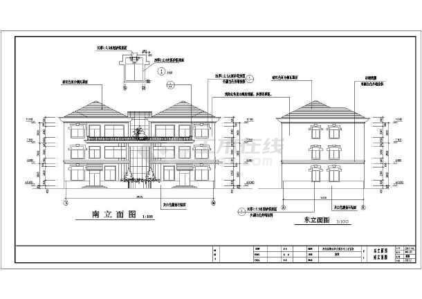相关专题:豪华别墅施工图豪华别墅设计施工图完整豪华欧式别墅施工