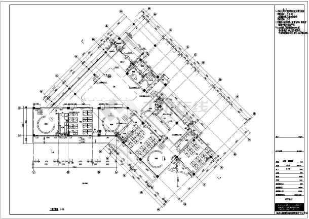 某地3层框架结构幼儿园建筑设计扩初图