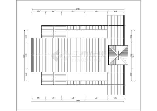 某地二层框架结构天主教堂建筑方案设计