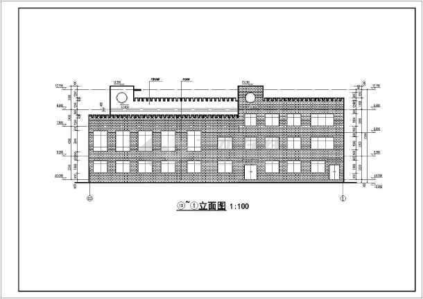 某农村三层框架结构幼儿园建筑设计方案