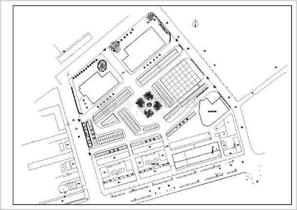 某农贸市场设计规划方案图