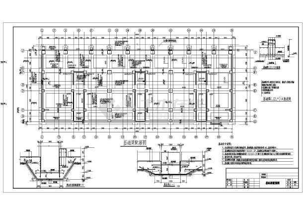 【陕西】18层钢筋混凝土结构商住楼结构施工图