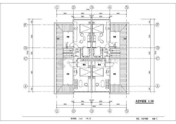 某五层欧式风格私人住宅建筑施工图-图1