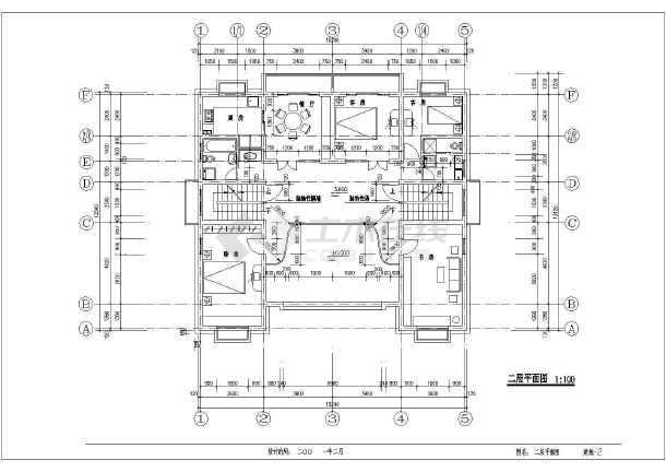 某五层欧式风格私人住宅建筑施工图-图2