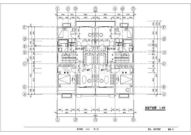 某五层欧式风格私人住宅建筑施工图-图3