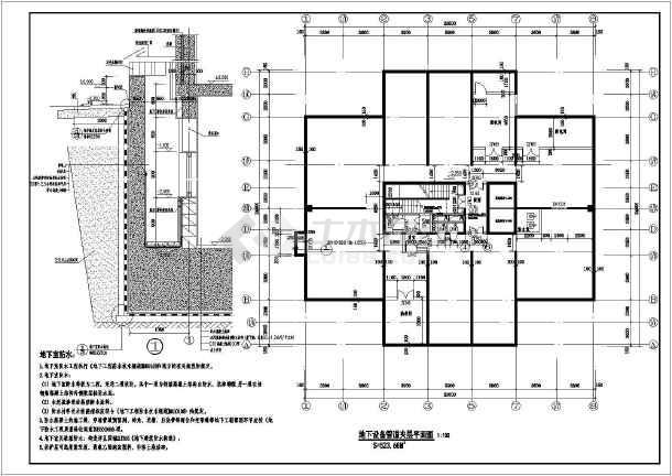18层装配式剪力墙图纸住宅楼结构施工图(含建v3.8结构三星手机v图纸图片