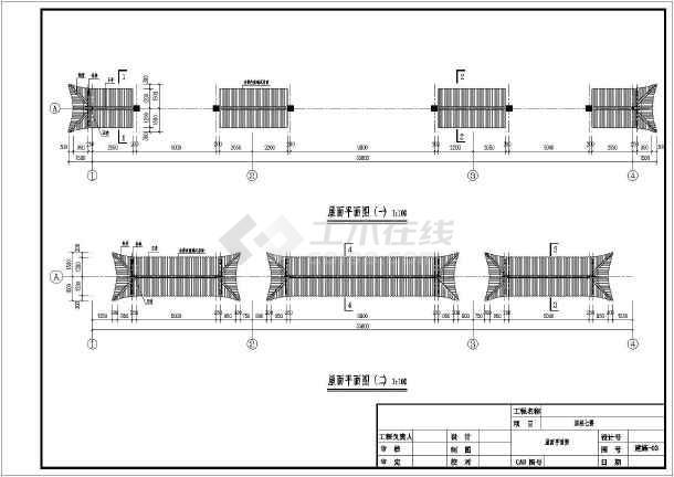仿古结构下载及电机施工图_cad图纸建筑的电动车图纸cad门楼图片