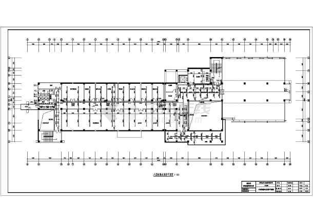 公楼给排水消防施工图设计图片