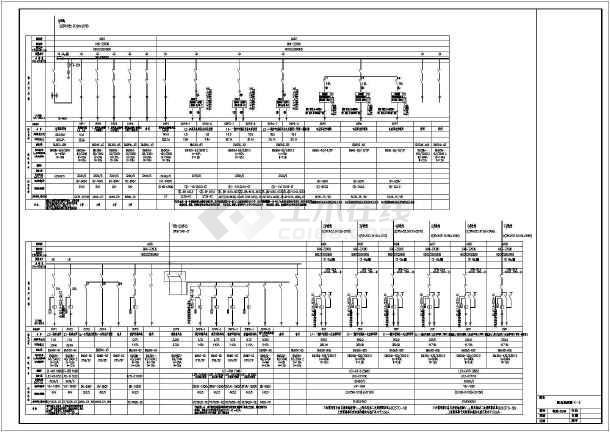 工业建筑 其他工业建筑电气设计施工图 3*14mw热水二层锅炉房电气设计