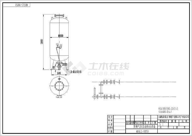 政墙体处理厂紫外线设计渠消毒施工图_cad图cad污水宽度钱多少是图片