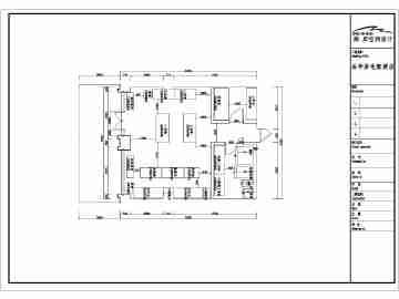 某市精致面包店室内装修建筑设计方案