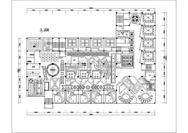 ktv酒店施工图装修图全套设计图图片