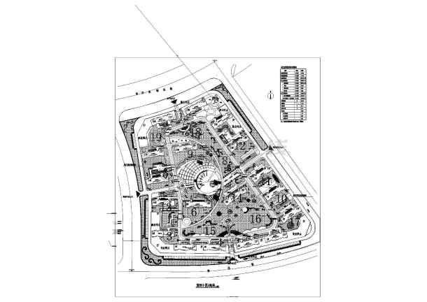 滨河小区绿化景观工程规划设计施工图