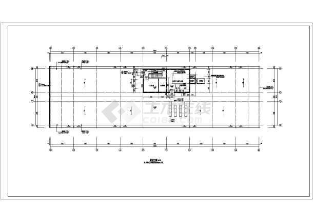 某地6层框架结构办公楼建筑施工图