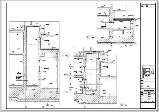 某地区厂区窗井及设备吊装孔建筑设计详图图片