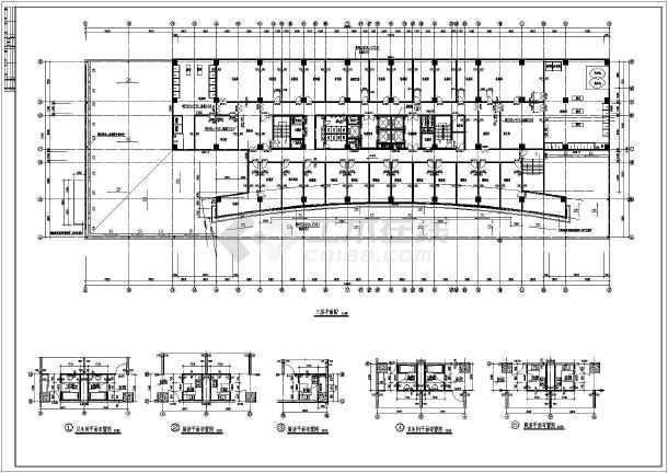 某地区五星级酒店建筑结构图(共11张)