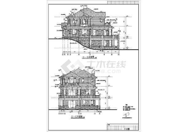 40米 宽12.90米农村自建房建筑设计图