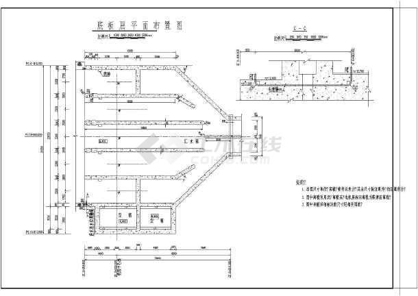 图纸 水利工程设计图 电站厂房 土建工程 900zlb-100型长江泵站厂房