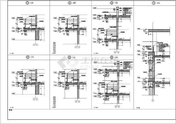 图纸 建筑图纸 居住建筑 高层住宅 某地中高层剪力墙商住楼建筑设计