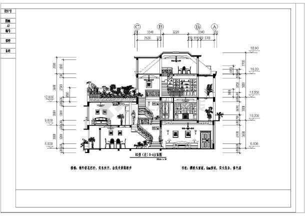 欧式别墅设计_欧式别墅设计cad图纸