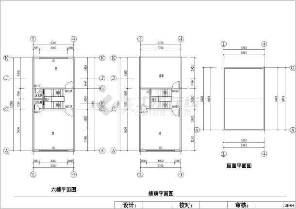 某七层城镇民房建筑结构设计施工图