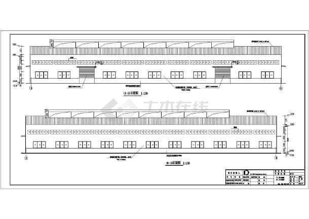 某地单层轻钢结构厂房建筑结构设计施工图