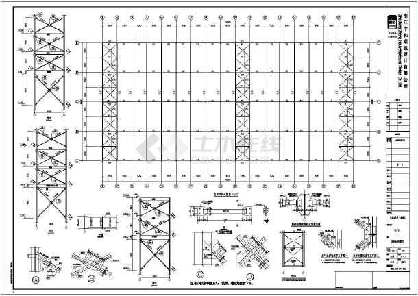 某地三层框架结构独立基础钢结构标准化厂房结构施工