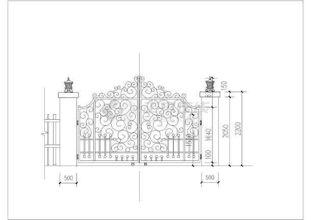 园林景观套图 施工图阶段套图 某山体别墅景观园建绿化水电设计套图
