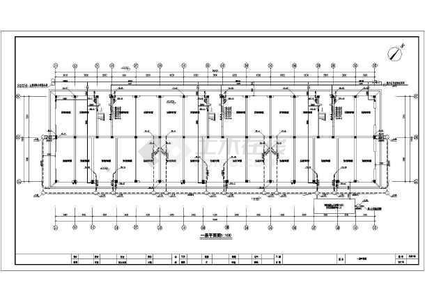 常用各种类型建筑给排水设计施工图纸