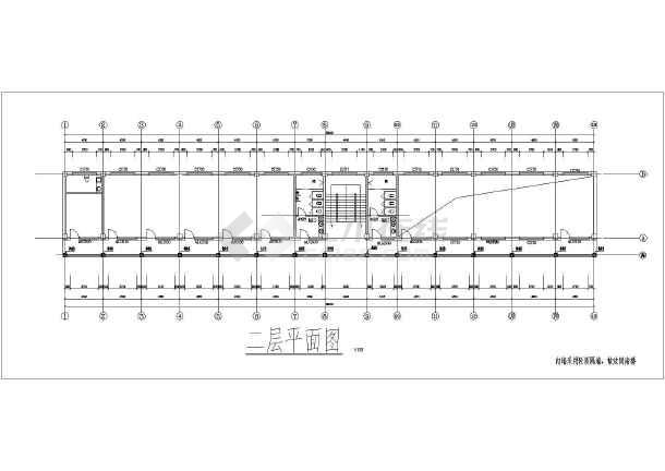 三层仿古建筑建筑、图纸、结构图_cad水电下图纸102trx31023102x图片