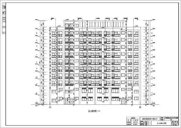 四川某10层剪力墙钢结构商住楼建筑施工图