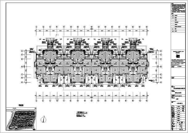 【青岛】鹤山某别墅地暖工程设计施工图纸