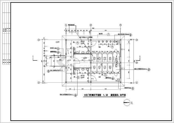 卫生间设计施工图
