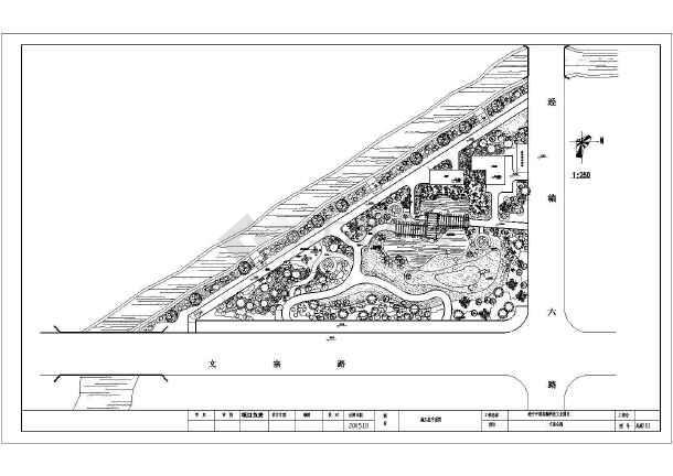 景观手绘植物平面图线稿