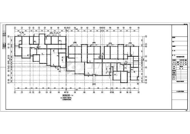 图纸 建筑结构图 钢结构图纸 钢框架结构 外墙不连通砌体结构施工图